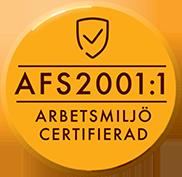 Arbetsmiljö Certifierad